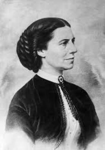 Clara Barton founded the American Red Cross
