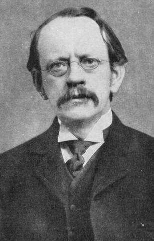 J.J. Thomson discovers the electron.