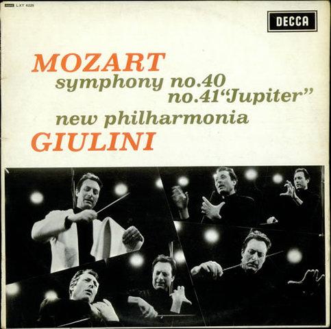 Simfonia nº41, en do major, KV 550,  Mozart