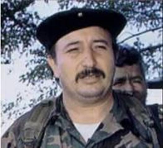 """baja al jefe guerrillero Jorge Briceño Alias """"Mono Jojoy""""."""