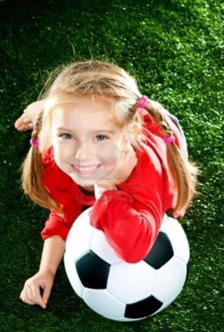 Delilah starts soccer