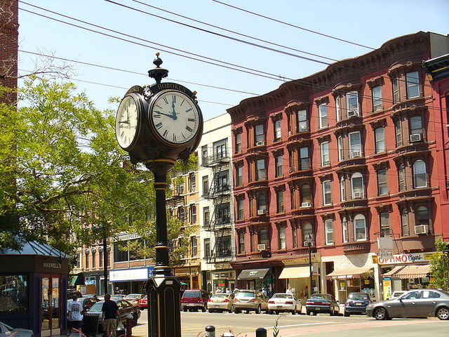 move from New York City to Hoboken