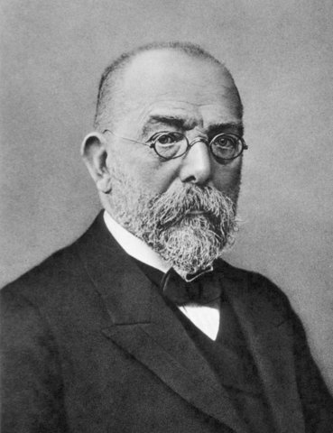 Robert Koch developed the culture plate method to identify pathogens