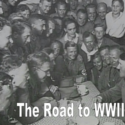 The road to WWII timeline