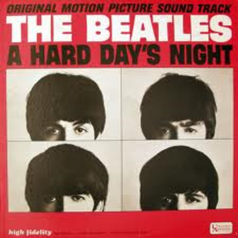 1964- The Beatles A Hard Day's Night