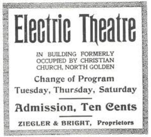 The Electric Theatre.