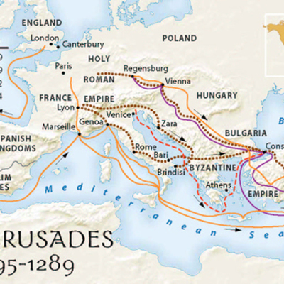 Crusades timeline