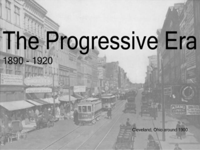 Education Is A Progressive Discovery Of Our: Progressive Era Timeline