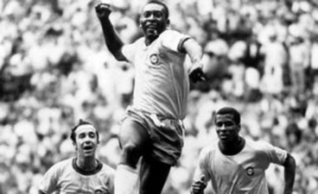 Pele became the youngest player in a world cup final.