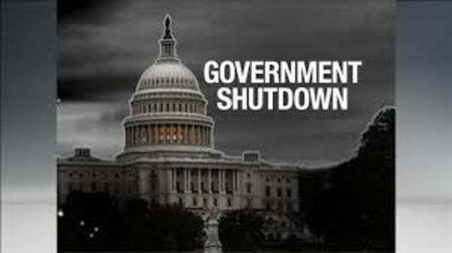 The goverment congress closed down