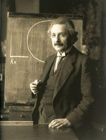 Albert einstein presents the Special Theory of Relativity