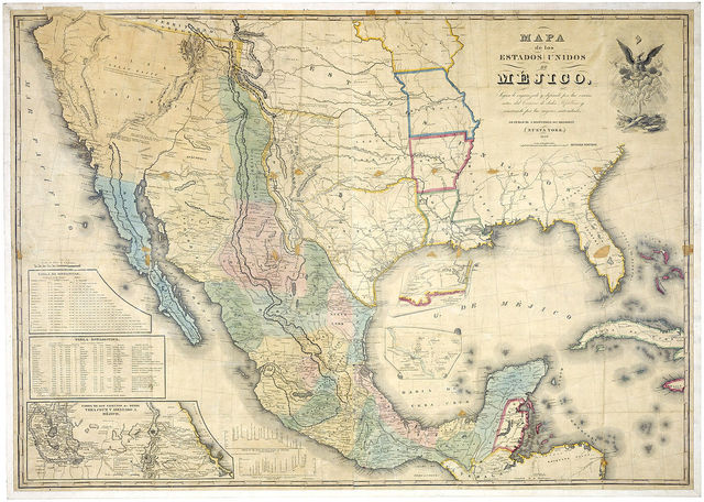 Colorado Territory To Statehood United States Expands West - Us southern border map