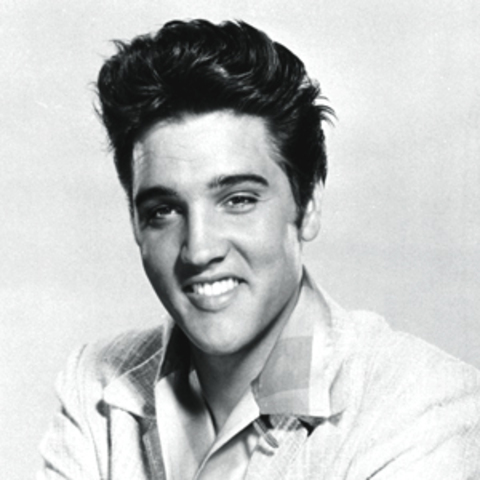 Elvis Presley emerges as one of the world's first rock stars