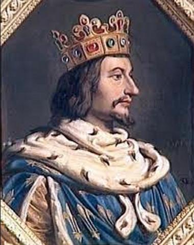 He met the king of Frace