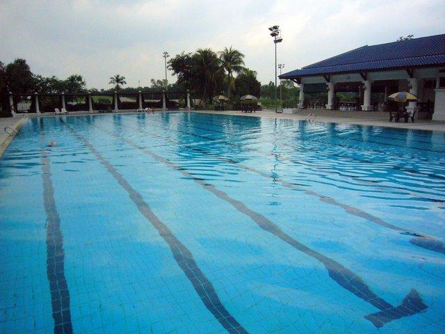 joined swim team
