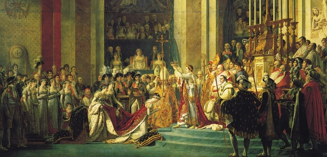 The Crowning of an Emperor