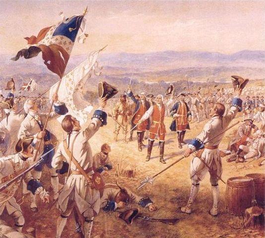 British Attack at Fort Carillion