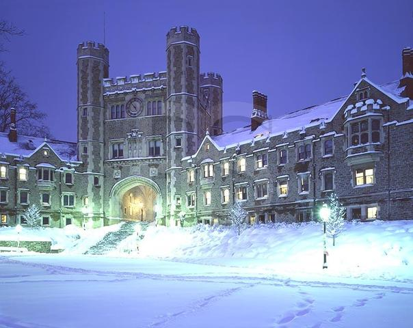 Graduated from (Princeton)
