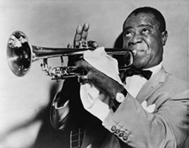 Louis Armstrong was born