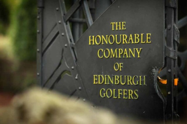 Aparece la Honourable Company of Edinburgh Golfers