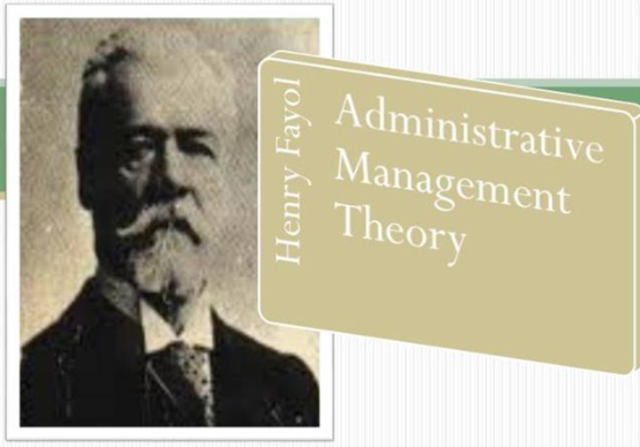 Administrative Management Theory - Henri Fayol