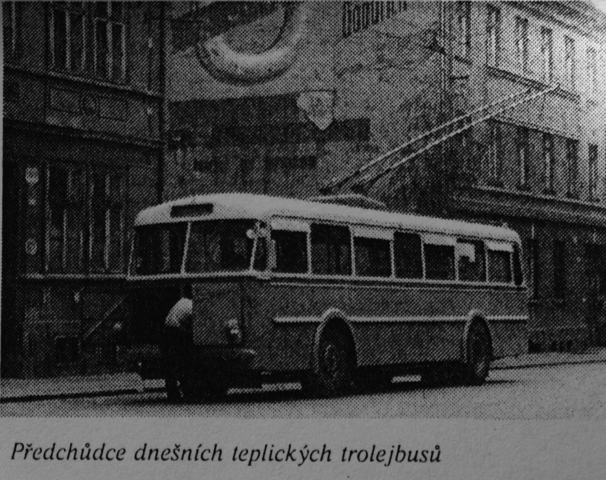 Trolejbusová doprava slaví čtyřicátiny