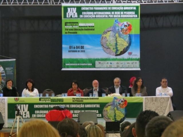 CASCAVEL RECEBE O XIV ENCONTRO PARANAENSE DE EDUCAÇÃO AMBIENTAL E COLÓQUIO INTERNACIONAL DE REDE DE PESQUISA EM EA