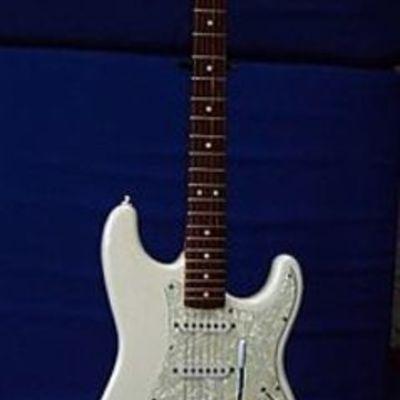 Historia de la guitarra electrica timeline