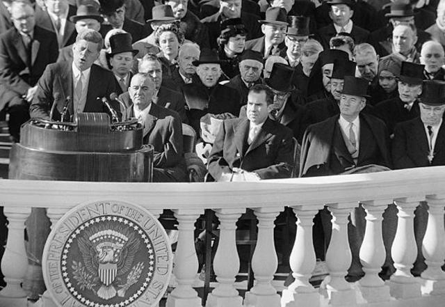 The Inaugeration of JFK
