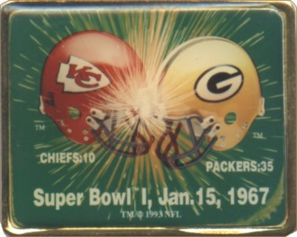 The First Super Bowl between Green Bay and the Chiefs