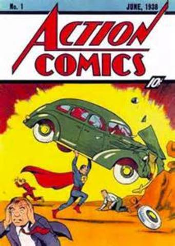 The first Superman Comic