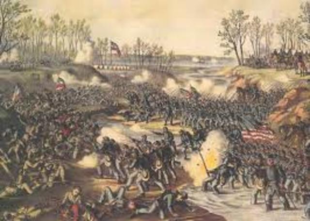 Greatest Civil War Battles Timeline Timetoast Timelines