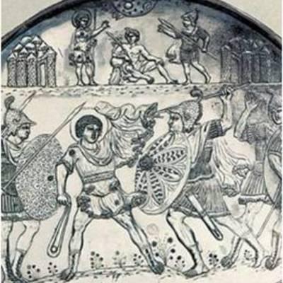 ΑΠΟ ΤΟ ΘΑΝΑΤΟ ΤΟΥ ΙΟΥΣΤΙΝΙΑΝΟΥ ΩΣ ΤΗΝ ΑΠΟΚΑΤΑΣΤΑΣΗ ΤΩΝ ΕΙΚΟΝΩΝ ΚΑΙ ΤΗ ΣΥΝΘΗΚΗ ΤΟΥ ΒΕΡΝΤΕΝ (565-843) timeline