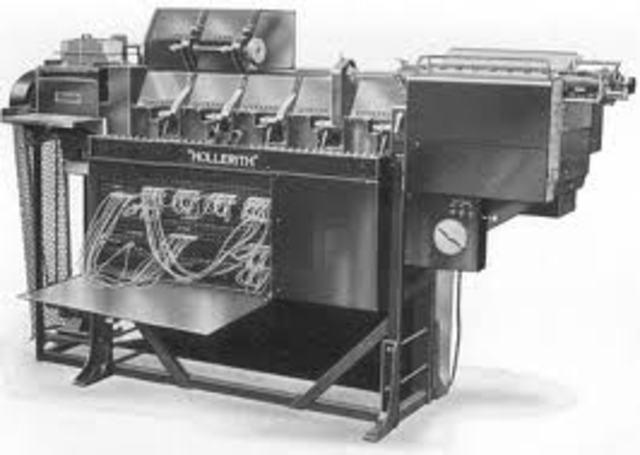máquina electromecánica de herman hollerith