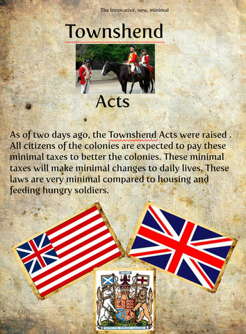 Townshead Act