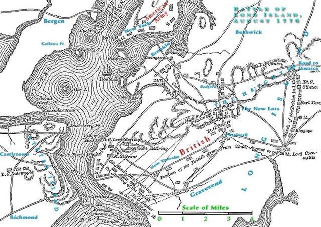 Battle-of-Long-Island-Map-sml Battle Of Bunker Hill Map Timeline on first battle of bull run timeline, battle of galveston timeline, battle of kettle creek timeline, battle at breed's hill, battle ofbunker hill, battle of moore's creek bridge map, battle of trenton timeline, battle of okinawa timeline, american revolution timeline, battle of dong ap bia, battle of britain timeline, battle on bunker hill, battle of thermopylae timeline, battle of antietam timeline, battle of chattanooga timeline, battle of yorktown timeline, battle of midway timeline, battle of germantown reenactment, battle of franklin timeline, battle of hill 488,