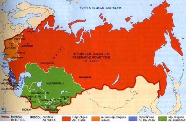 Final de la guerra fría y de la URSS