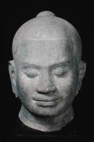 Jayraman II founds the Khmer Empire