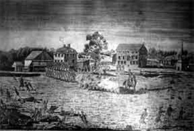 First Major Battle - The Battle of Bunker Hill