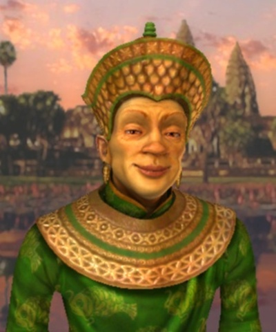 Suryavarman II reigns (he builds Angkor Wat and Beng Mealea).
