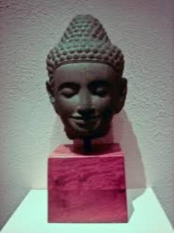 Jayavarman IV founds the mahidharpura dynesty