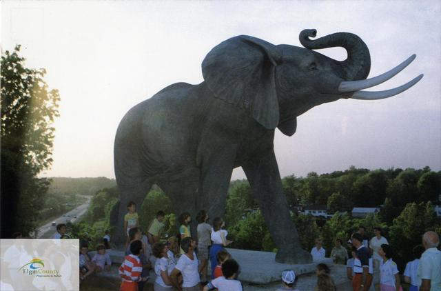 Jumbo Statue in St. Thomas