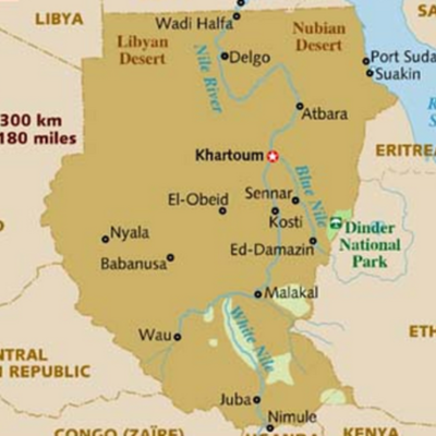 History of Sudan (Kat) timeline
