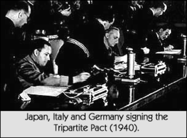 alliance with germany and italy the axis powers essay Third, britain historically was one of america's closest allies and the british  people were united and fighting for their lives against germany.