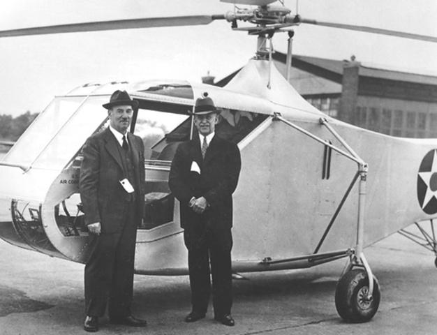 Inauguración de la era de la aviación