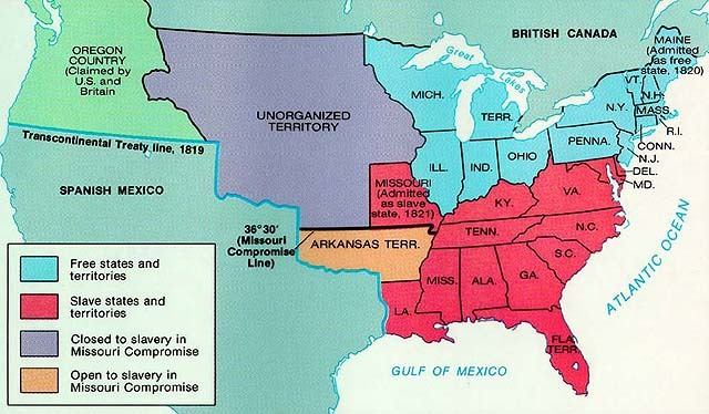 states Archives - Ramblin' with Roger |United States Missouri Compromise