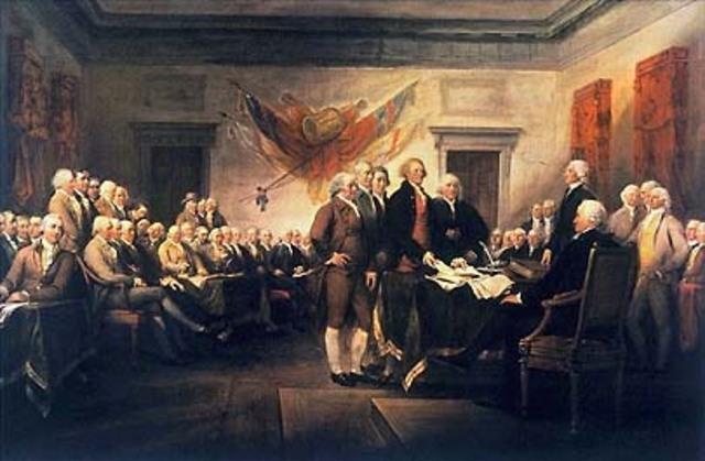 Declaring Independance