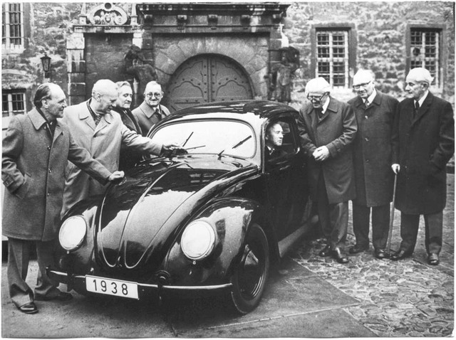 Volkswagen Beetle is produced