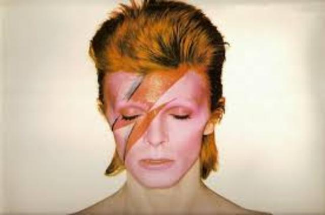 David Bowie launches his career in music
