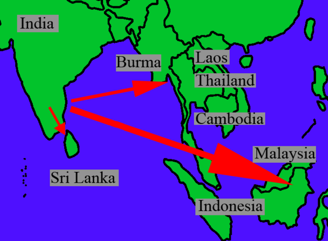 South East Asia is Indianised